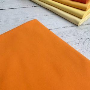 Fluorescent Orange cotton lycra jersey knit