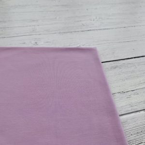 Lilac Purple Cotton Lycra Jersey Knit Fabric