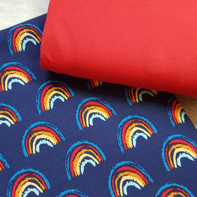 WHOLESALE Caboodle Textiles Exclusive Rainbow French Terry